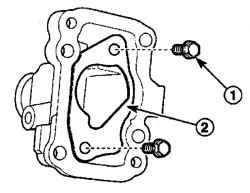 4.2.5 Снятие и установка элементов коробки передач Daewoo Matiz