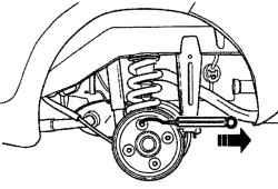 2.9.2 Проверка вращения подшипника заднего колеса