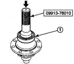 4.2.7 Разборка и сборка ряда узлов коробки передач Daewoo Matiz