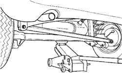 2.12.2 Подъем автомобиля Daewoo Matiz