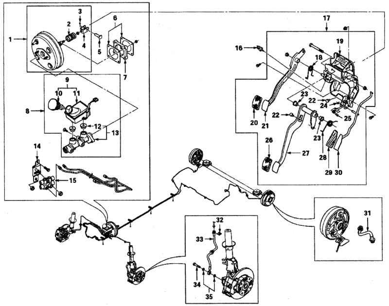 Схема тормозной системы матиза