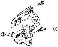 7.5.3 Суппорт переднего тормоза