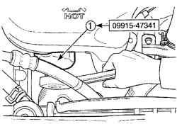 2.2.1 Замена моторного масла и масляного фильтра Daewoo Matiz