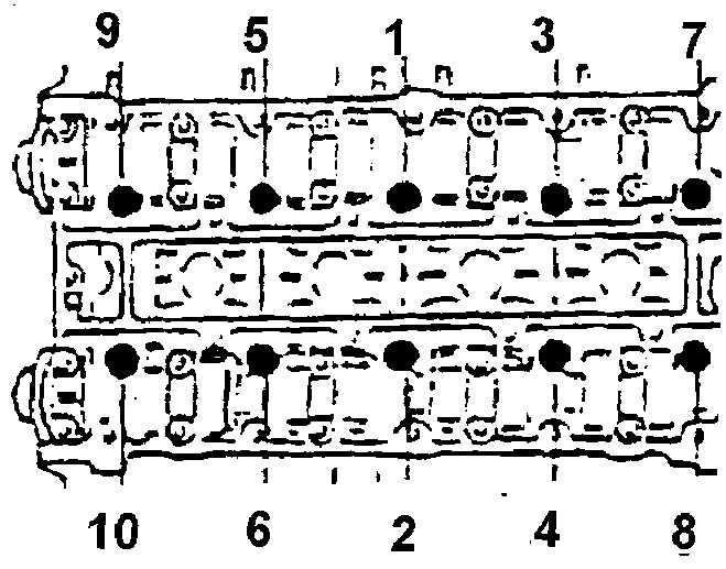 прошлом део нексия 1 6л 16клапанов момент затяжки гбц база актуальных