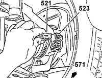 18.42 Датчик угловой скорости переднего колеса