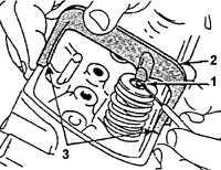 3.29 Высота стержня клапана относительно головки блока цилиндров