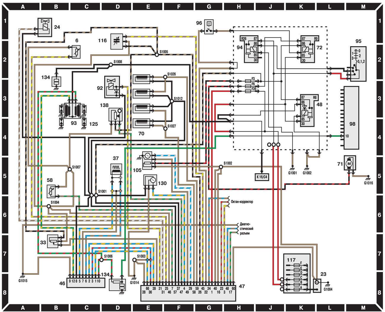 Схема форд сиерра дизель