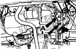 2.4.3 Проверка уровня масла в механической коробке передач