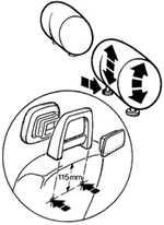 1.10 Передние сидения