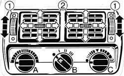 1.16 Отопление и вентиляция Ford Escort