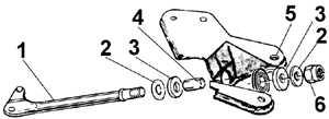 10.2.5 Снятие и установка растяжки