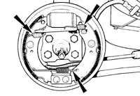 12.3.1 Задние тормоза Ford Escort
