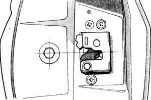 13.9.5 Регулировка установки двери