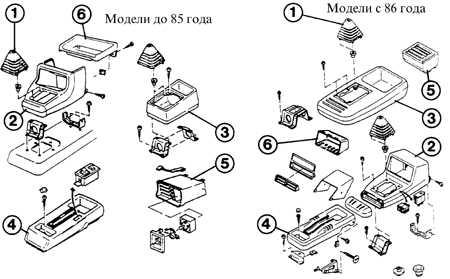 14.5.1 Комбинация приборов и переключатели Ford Escort