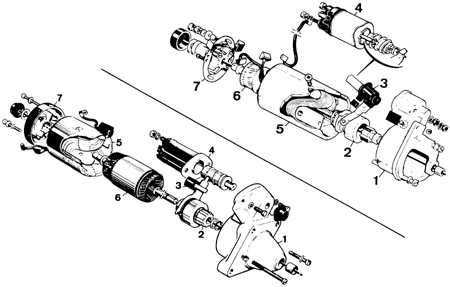 14.3.1 Стартер Ford Escort
