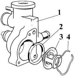 5.4 Термостат Ford Escort