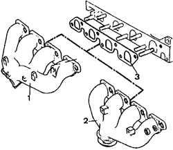 6.0 Система выпуска Ford Escort