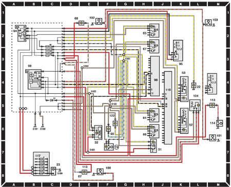 14.6.11 Система освещения салона Ford Escort