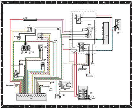 14.6.4 Система зажигания (двигатели 1,6 CVH и АКПП до 1995   г.)