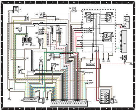 14.6.6 Системы зажигания и впрыска топлива (двигатели 1,4   CFI до 1995 г.)