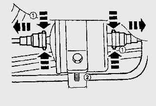 11.5 Замена топливного фильтра на автомобилях с бензиновыми двигателями Ford Fiesta