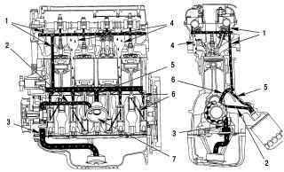 3.1 Общие сведения о системе смазки двигателей