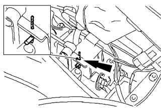 9.1 Установка механизма управления коробки передач iB5