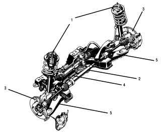 11.2 Детали и узлы передней подвески