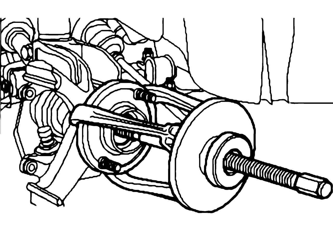 Шпилька заднего колеса на форд фокус 2 2008 года 26 фотография