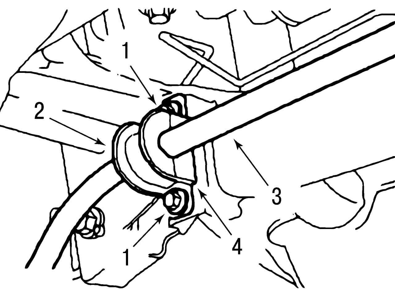 Стойка стабилизатора задней подвески форд фокус 1 23 фотография