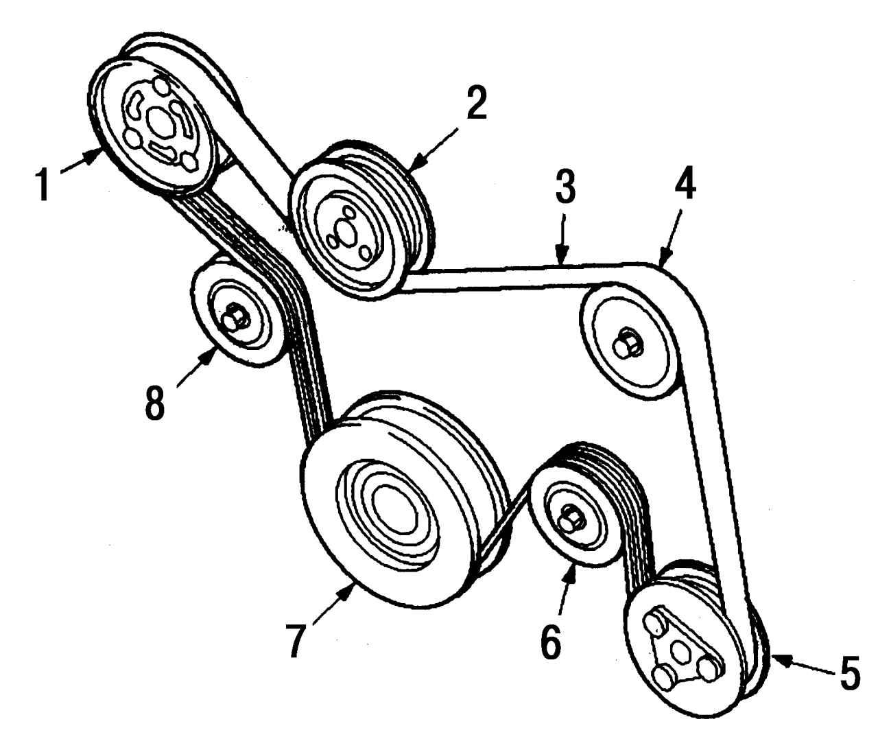 Ролик натяжения ремня генератора форд фокус 2 9 фотография
