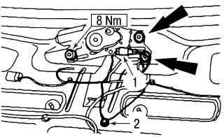 15.8 Электродвигатель стеклоочистителя заднего стекла