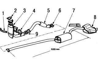 16.0 Система выпуска отработавших газов Ford Focus