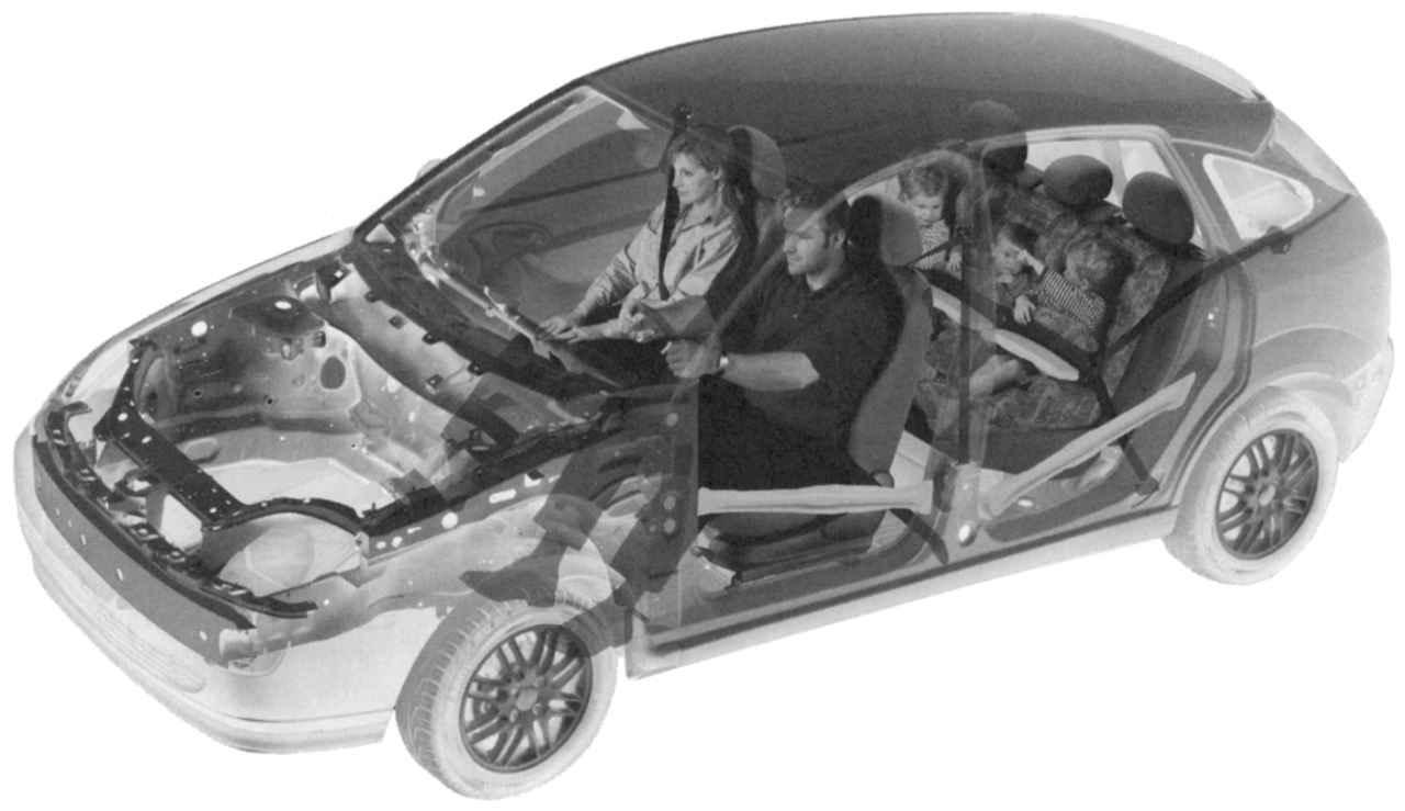 схема охлаждения двигателя форд фокус 1