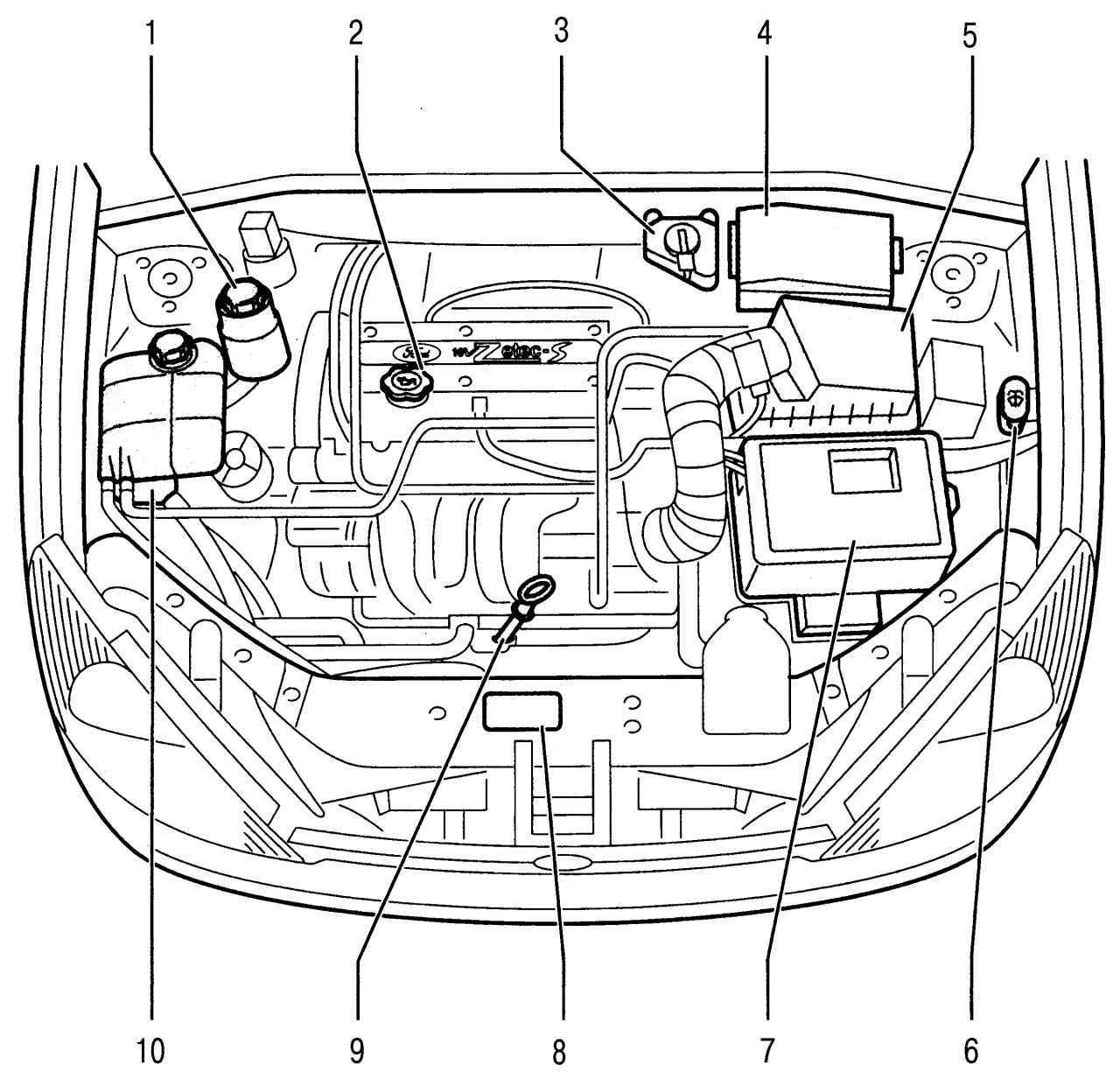 Форд фокус 1 в/в провода zetec 1 8 10 фотография