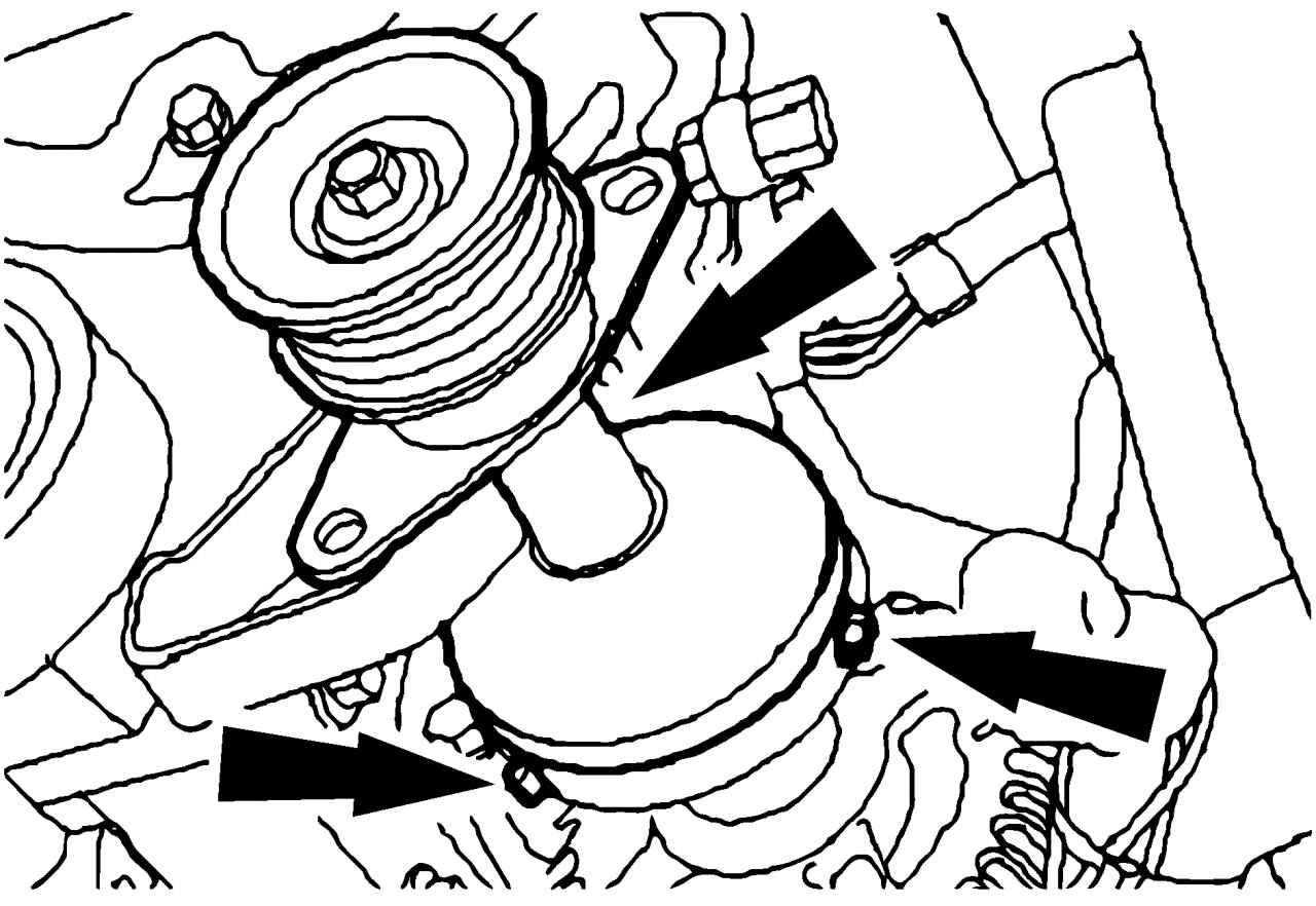 Форд фокус 2 генератор замена щеток 18 фотография