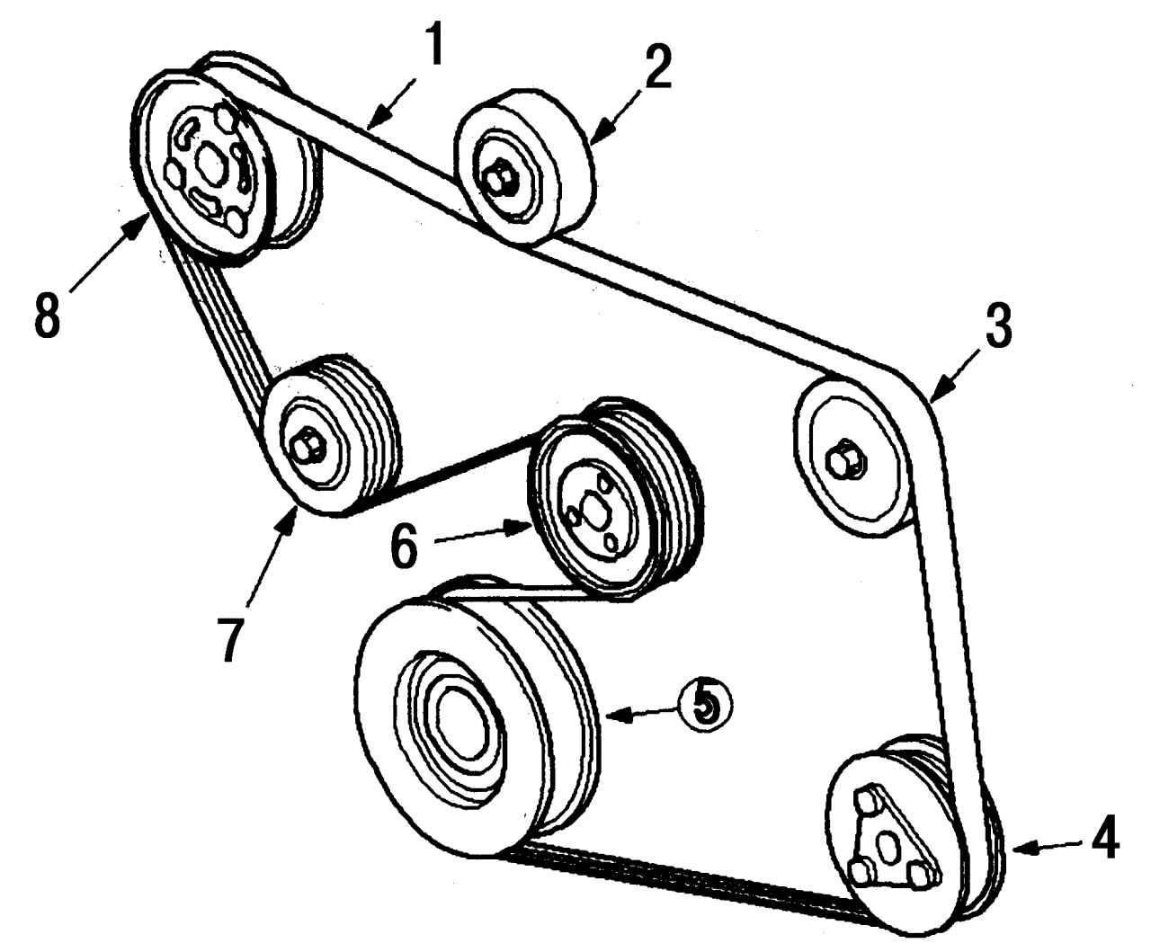 Ролик натяжной форд мондео 3 5 фотография