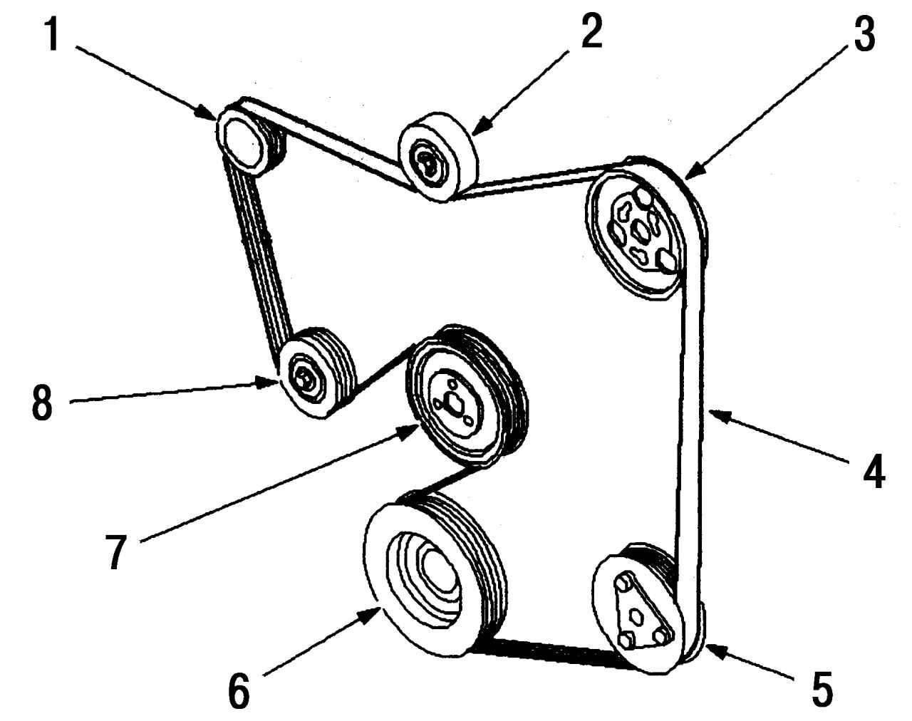 Ремень генератора на форд транзит 22 фотография