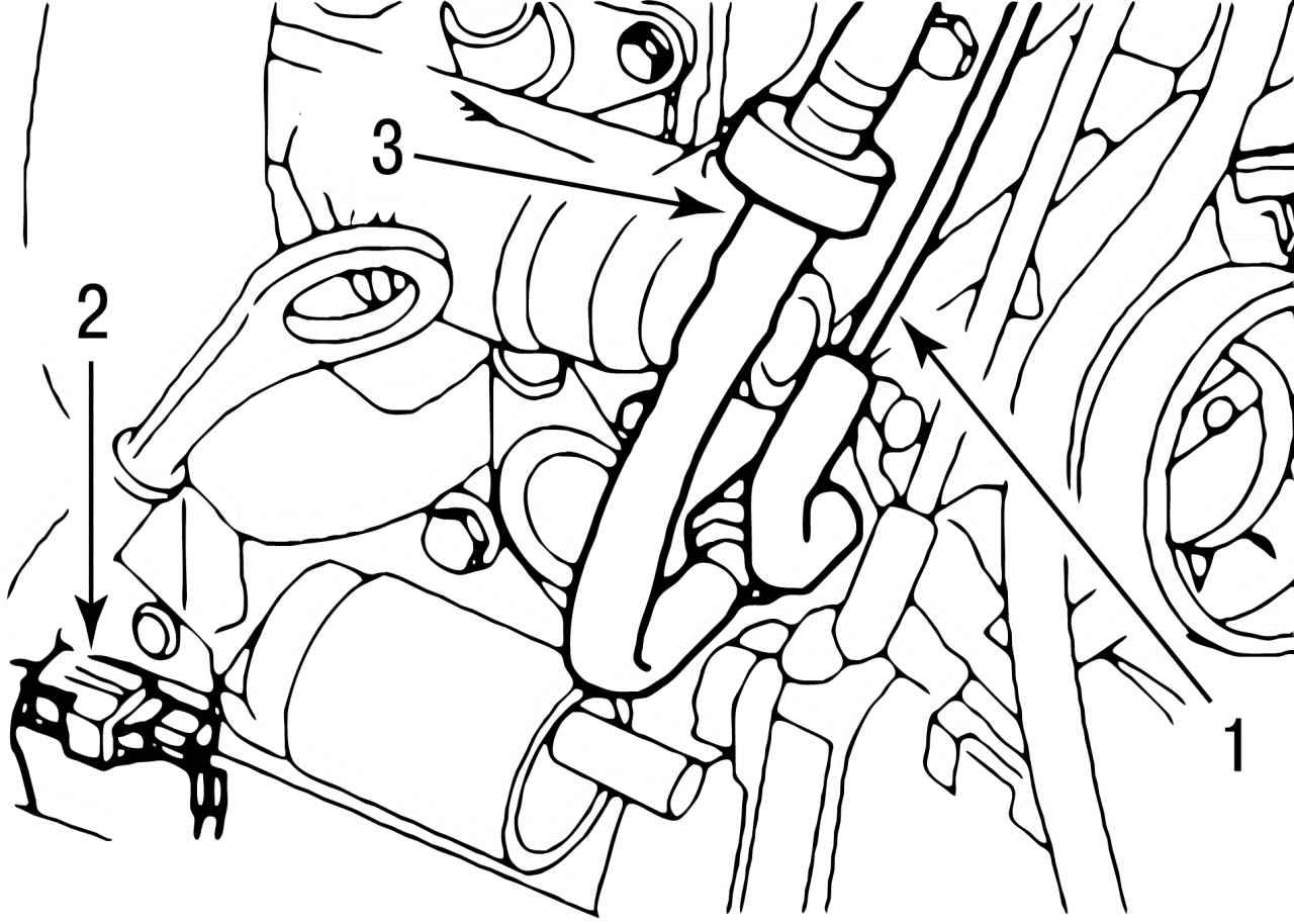 схема системы охлаждения двигателя форд-мондео 2