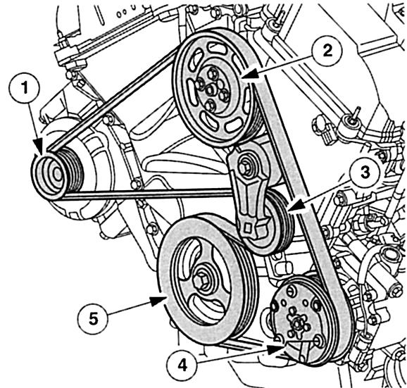 Схема ремня форд мондео 3 фото 726