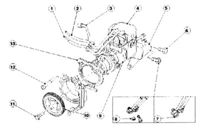 8.8 Топливоснабжение дизельного двигателя – базовая конструкция