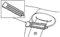 15.15 Демонтаж спинки задних сидений Ford Mondeo