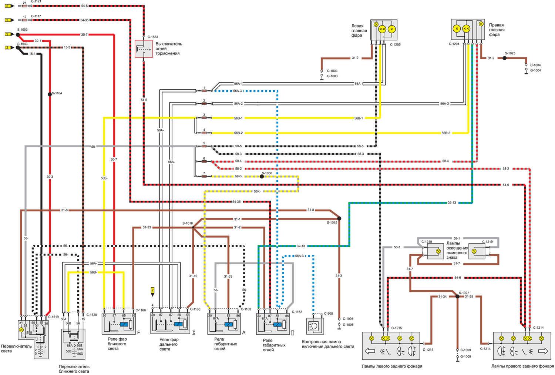 Схема замка зажигания форд транзит 14 фотография