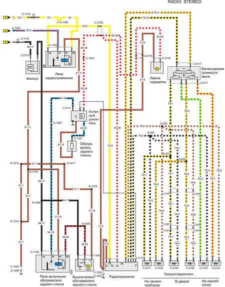 Схема электрического контура