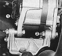 12.3 Снятие и установка генератора
