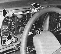 12.8 Снятие и установка комбинации приборов Ford Sierra