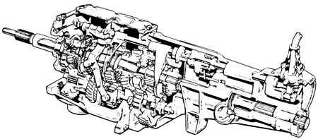 6.2.1 Механическая пятиступенчатая коробка передач