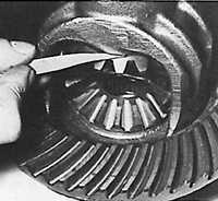 7.6 Разборка и сборка дифференциала Ford Sierra