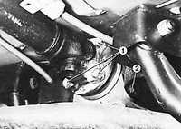 7.4 Снятие и установка заднего моста Ford Sierra