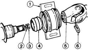 7.3 Ремонт промежуточного подшипника Ford Sierra